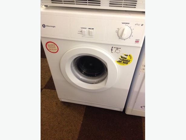 WHITE KNIGHT 7KG VENTED DRYER