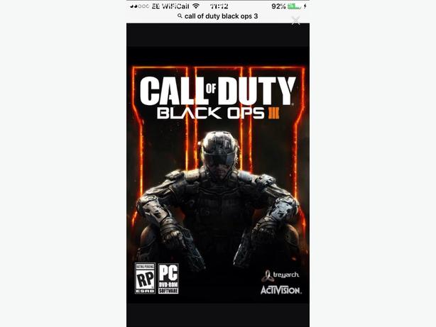 C.O.D black opps 3 ps4