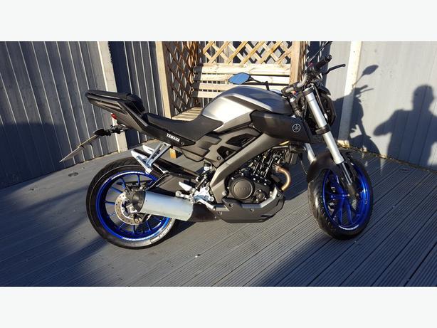 Yamaha MT125 2015