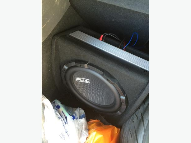 FOR TRADE: fli sub and amp 5 days old