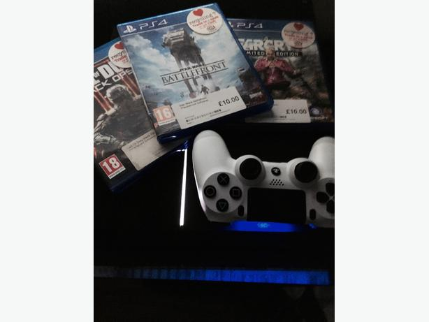 ps4 unboxed with 3 games