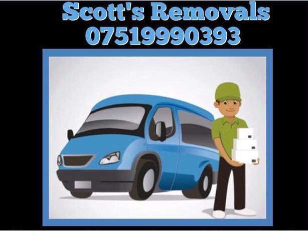 Man with a van . Scotts removals