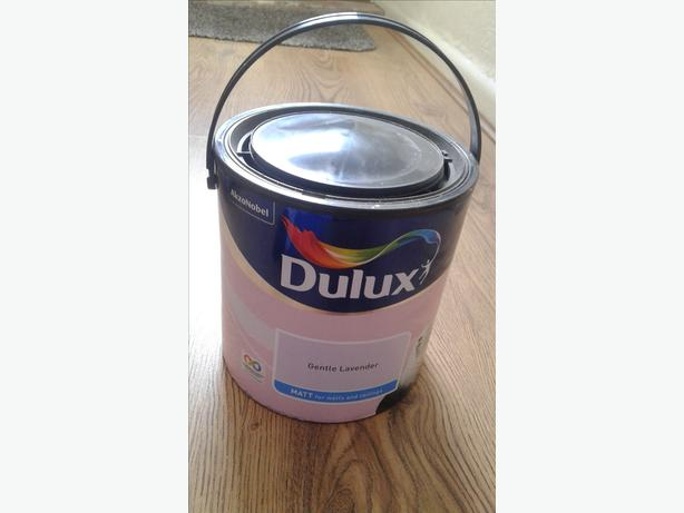 Dulux paint never opened