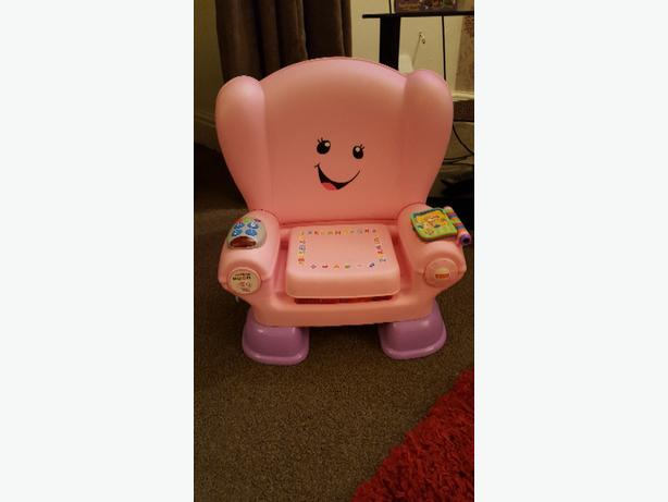 girls Fisher price chair