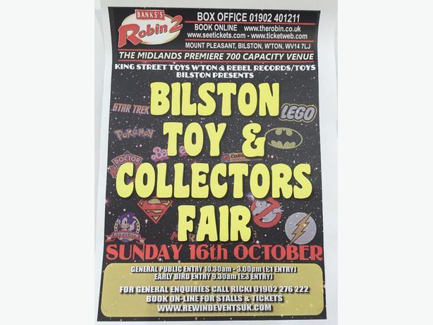 bilston toy fair sunday 16th october