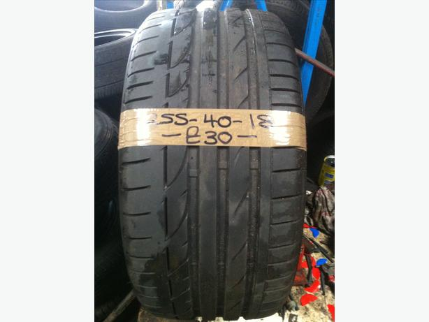255-40-18 Bridgestone Potenza S001 95Y 6.5mm Part Worn Tyre