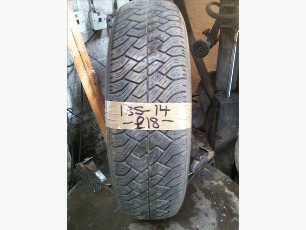 185-14 Silverstone Firefox 90T 4.5mm Part Worn Tyre