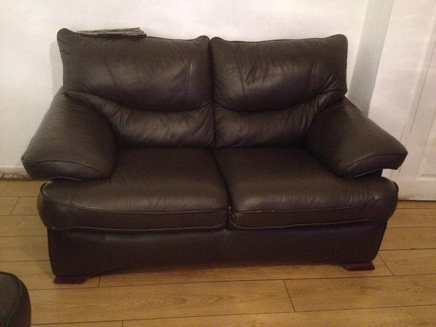 real leather chairs 3 2 and 1 seaters