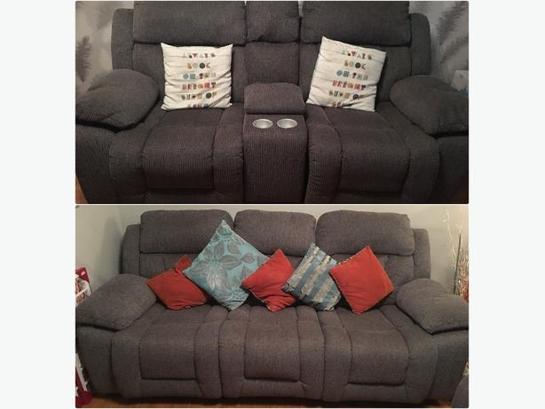 3 + 2 cinema recliner set in excellent condition // free delivery