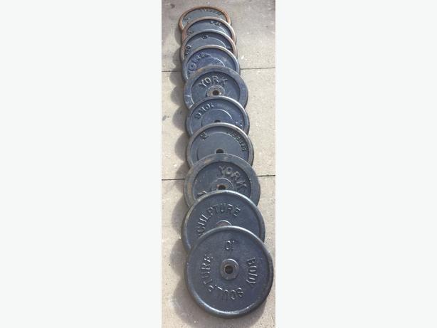 100 kg of cast iron plates