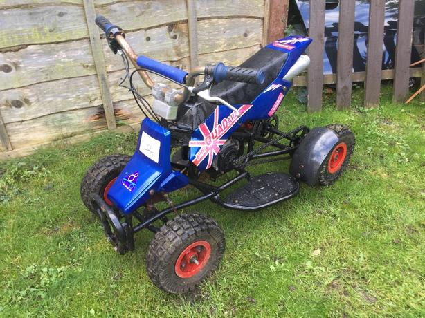 mini kids quad bike