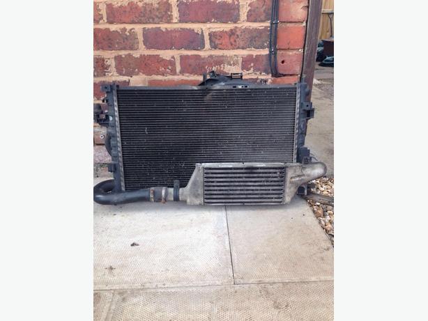 corsa c complete radiator
