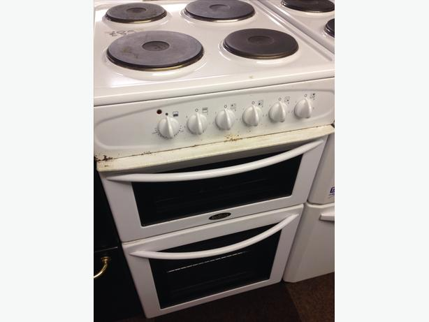 BELLING ELECTRIC COOKER 50CM PLATED TOP