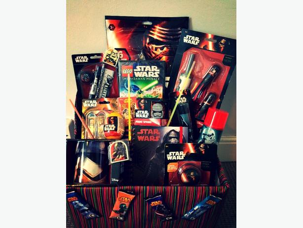 starwars childrens gift hamper toy bundle christmas