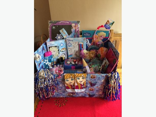 childrens frozen gift hamper toy bundle christmas