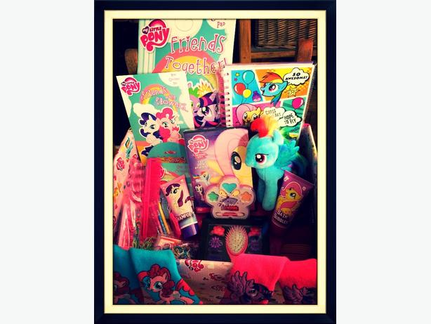 childrens my little pony hamper toy bundle christmas