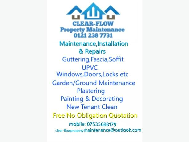 FREE: Guttering and Cleaning