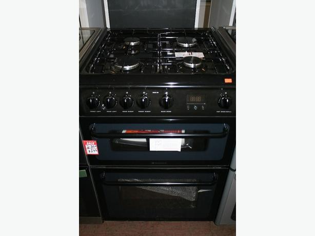 Graded new free standing gas cooker, working well