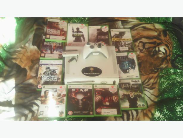 Xbox 360 /with games