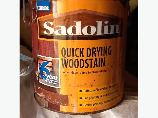 Sadolin wood stain 2.5ltr