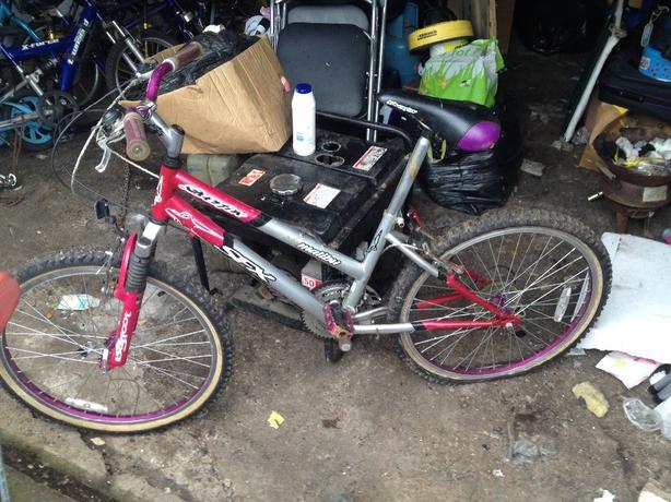 lades bike