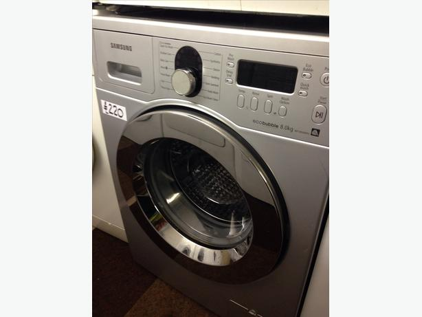 8KG SAMSUNG 1400 SPIN. WASHING MACHINE