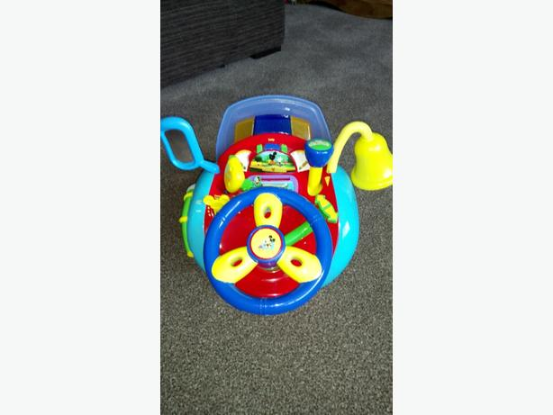 Micky mouse steering wheel