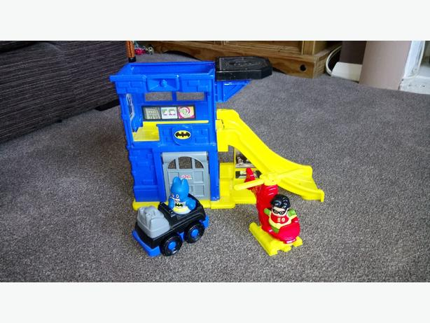 Fisher price batman and robin