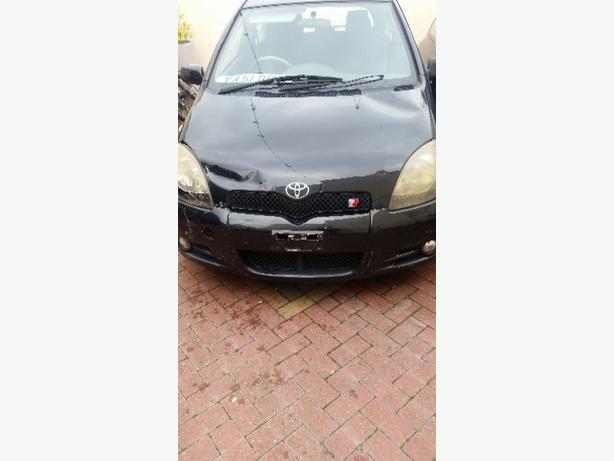Toyota yaris t sport spare and repair
