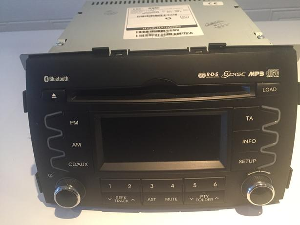 Car 6-Disc Storage Music Player & Radio