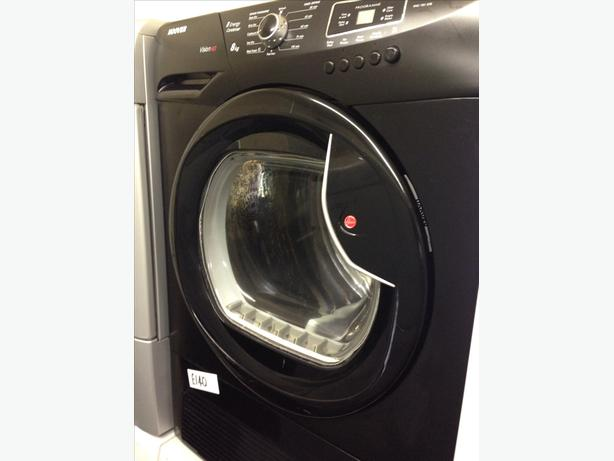 HOOVER BLACK 8KG CONDENSER DRYER