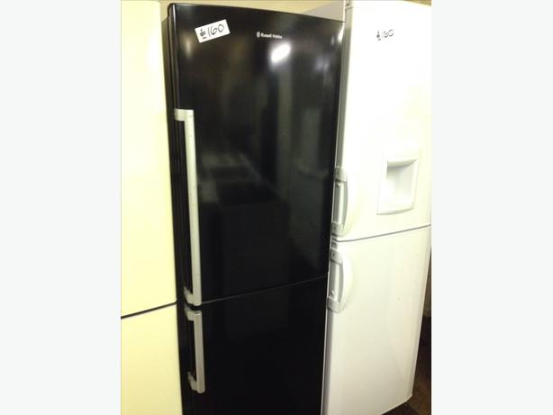 RUSSELL HOBBS FRIDGE FREEZER BLACK