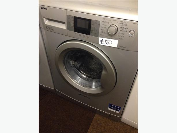 7KG SILVER BEKO WASHING MACHINE