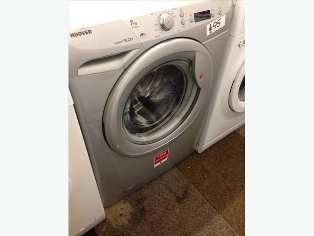 HOOVER 7KG SILVER WASHING MACHINE01