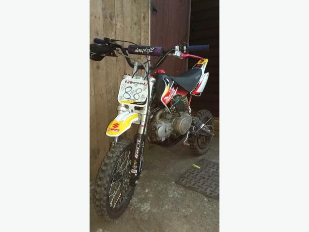 125cc stomp pit bike, 230 ono