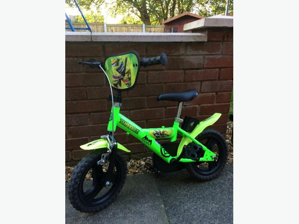 ninja turtles 12 inch bike