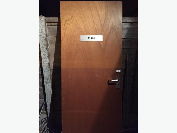 commercial toilet door