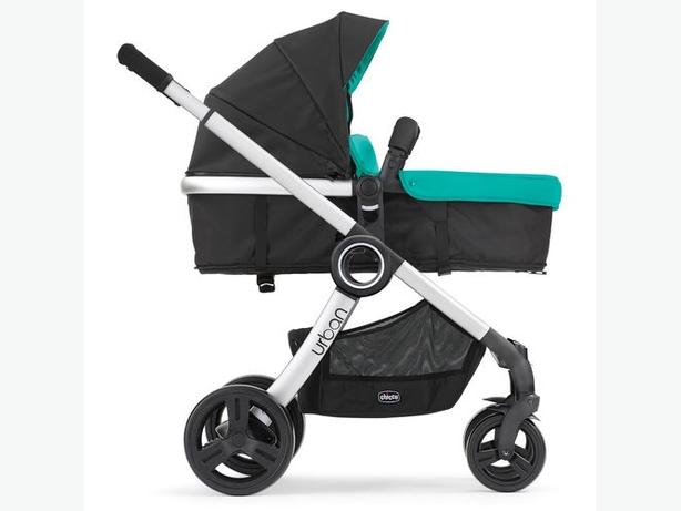 chicco urban aqua green pram for sale
