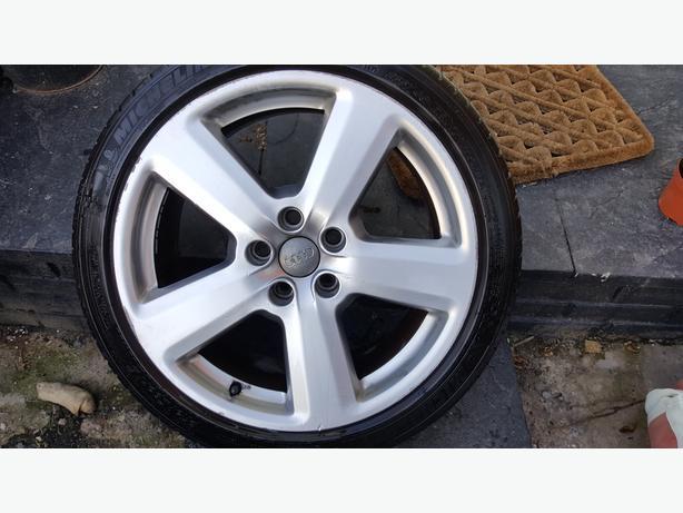 Audi a4 alloys 18 inch s line