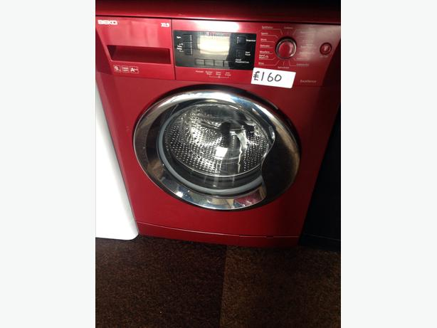 BEKO WASHING MACHINE RED 9KG