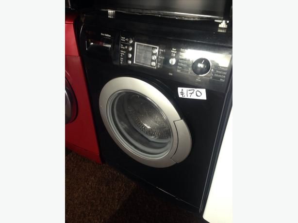 BOSCH WASHING MACHINE 6KG BLACK