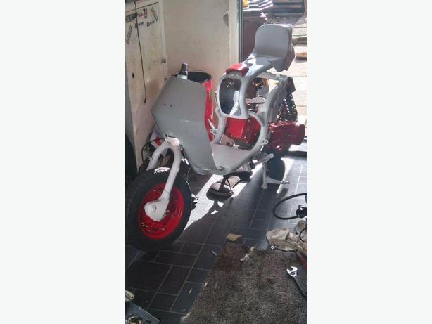 Lambretta gy6 125 cutdown project