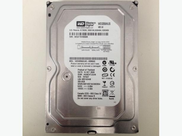 320gb sata hdd 3.5