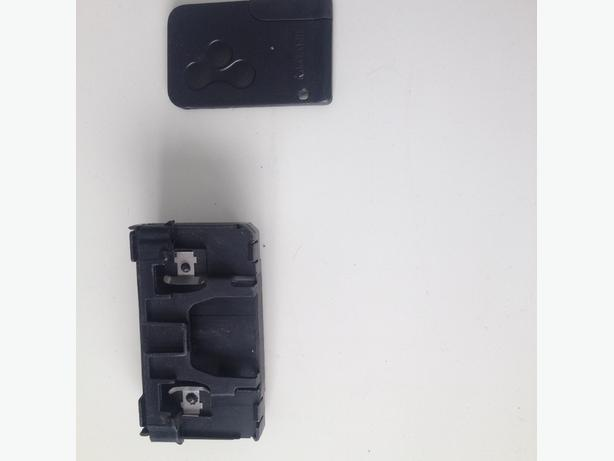 renault megane card reader and card