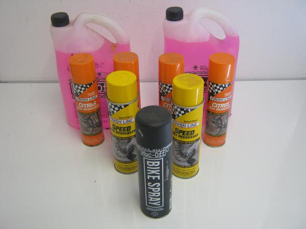 Job Lot Of Bike Degreaser And Cleaner