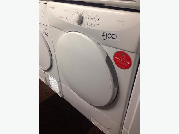 HOOVER DRYER 8KG CONDENSER