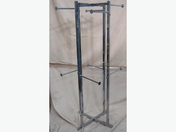 Retail Clothing Stand Eight Arms 160cm