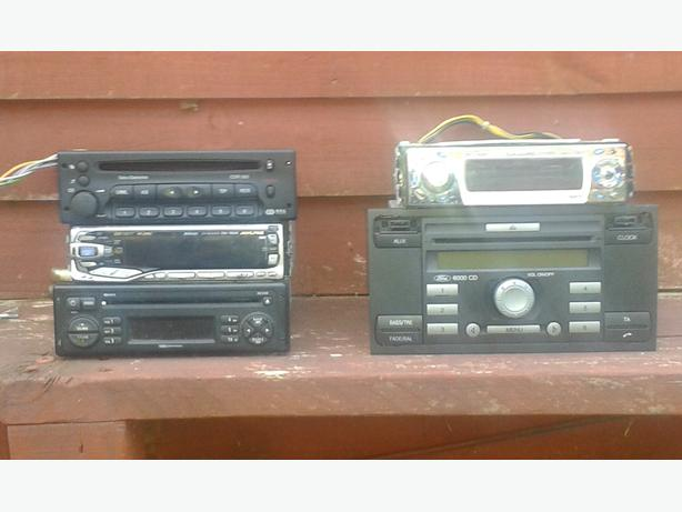 Car stereos  and other bits