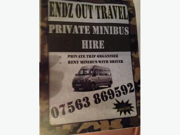 private mini bus hire