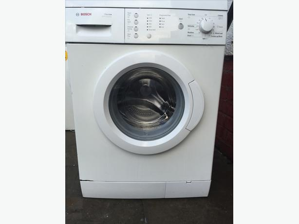 BOSCH 6 KG 1200 SPIN WASHING MACHINE FULLY SERVICED